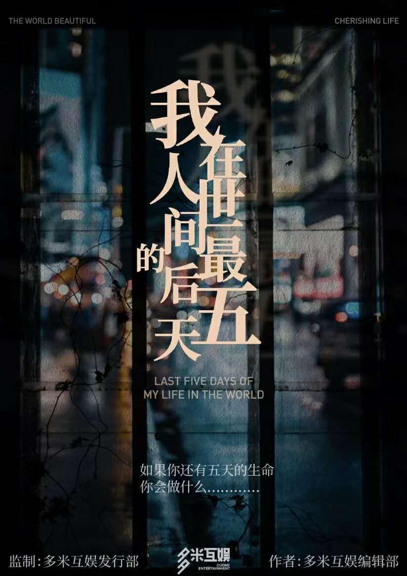 『我在人世间的最后五天』海报2