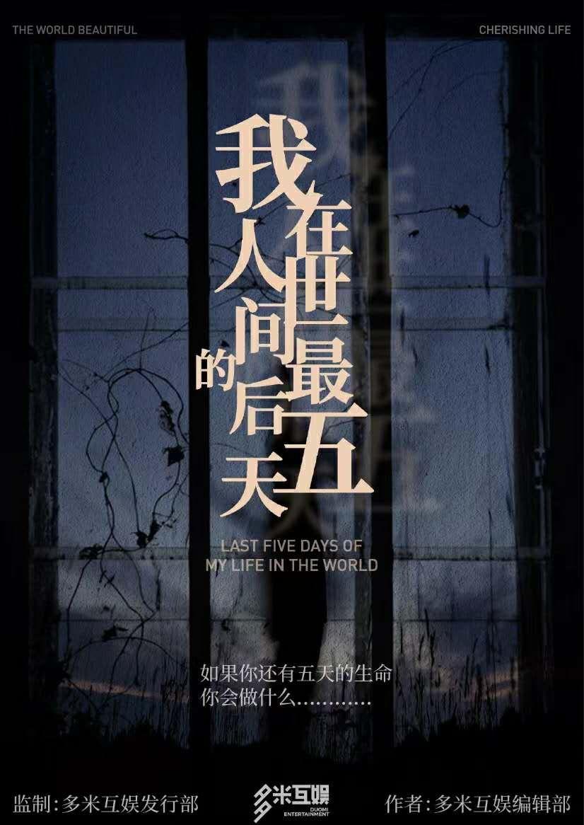 『我在人世间的最后五天』海报1